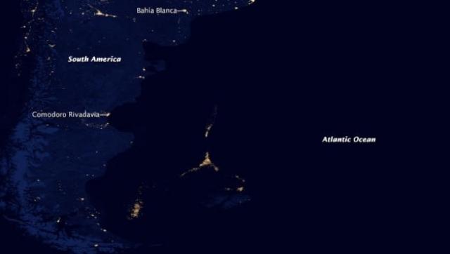 Argentina: Misterio de luces en el Atlántico
