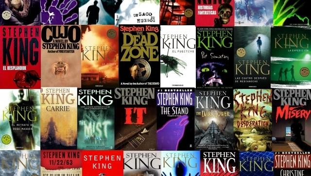 King ha publicado más de cincuenta novelas en cuarenta años de carrera.
