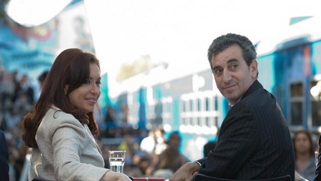 Cristina presentó las inversiones en la línea San Martín