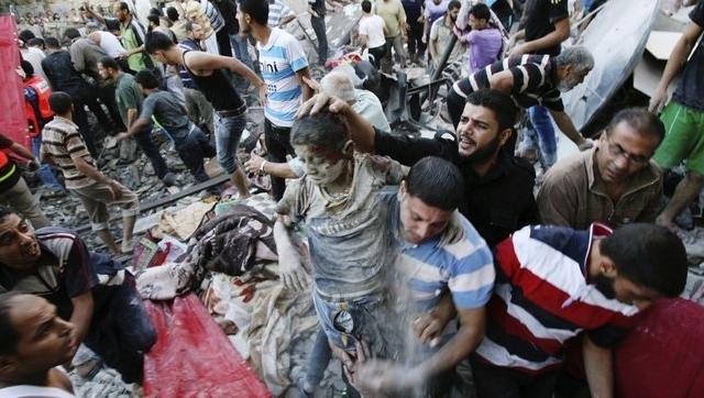 Intelectuales avalan asesinato de mujeres y niños palestinos