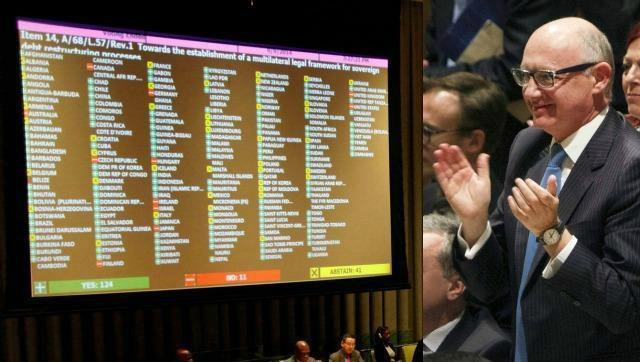 Argentina presentará un proyecto de condena a los fondos buitre