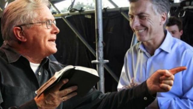 Guiño PRO al evangelismo: Macri declaró huesped de honor al pastor Palau