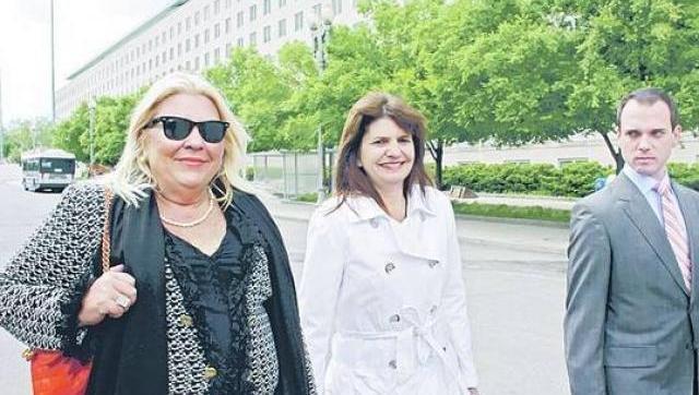 Grave denuncia contra Patricia Bullrich y Elisa Carrió
