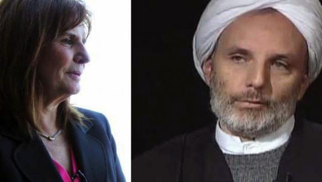 El sheij iraní que es primo de Patricia Bullrich