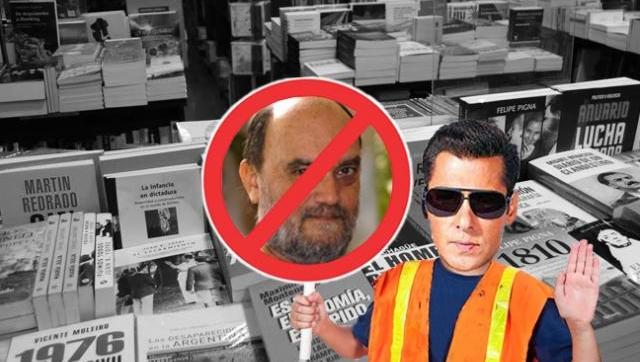 En Rosario, la librería de Clarín esconde los libros de autores locales