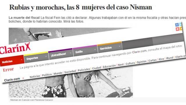 Santificar a Nisman: Clarín borra notas que puedan perjudicar la imagen del fiscal