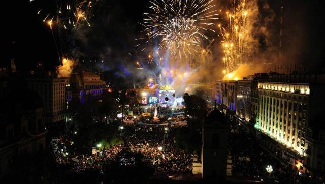 Las mejores fotos de la Fiesta Patria Popular en Plaza de Mayo