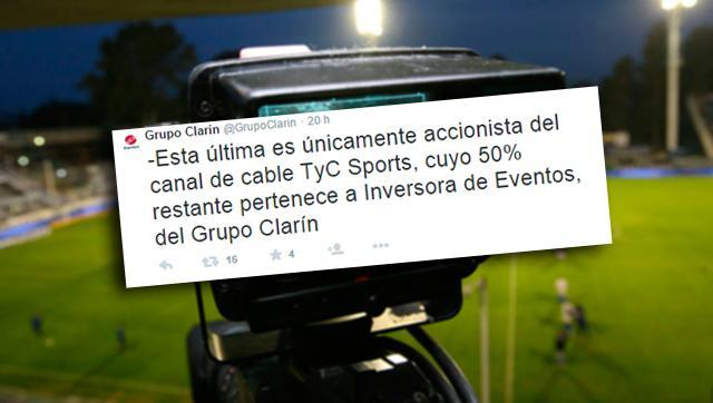 El Grupo Clarín confirmó que es socio de una empresa involucrada en el FIFAGate
