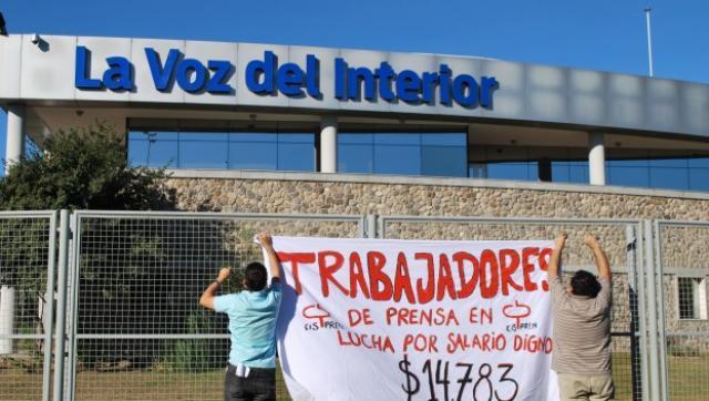 Trabajadores de la voz del interior denuncian persecuci n laboral - La voz del interior ...