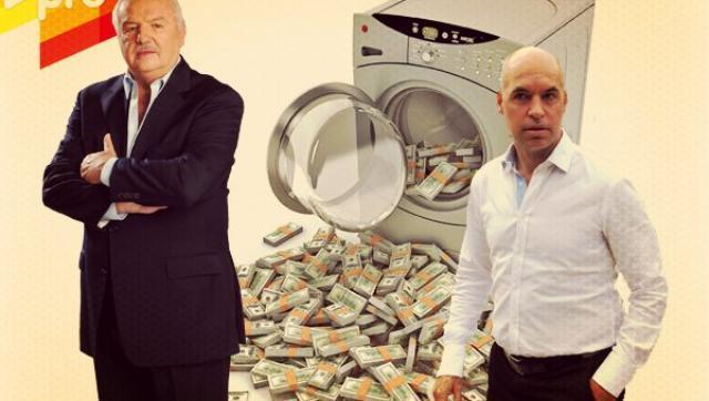 Niembro, Larreta denunciados por lavado de dinero