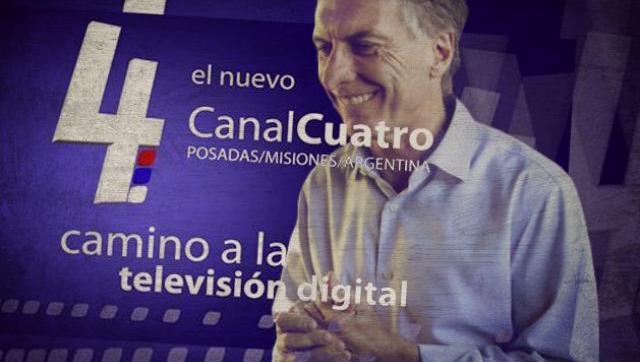 Canal 4 de Misiones niega haber recibido pauta millonaria y denuncia a Macri