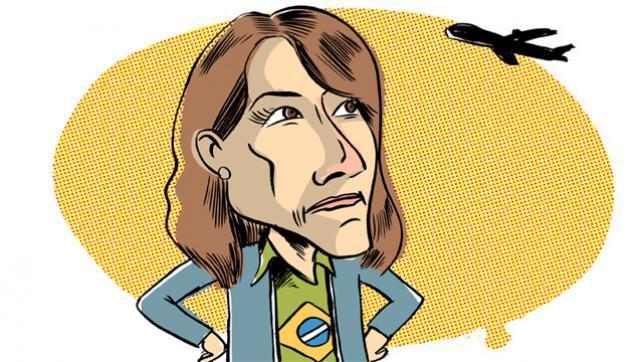 El Código Aeronáutico le impide asumir a Constantini por ser brasileña