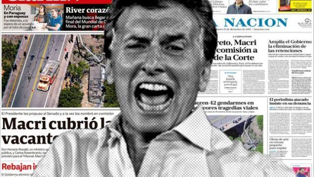Periodismo militante: lo que avalan y lo que ocultan Clarín y La Nación