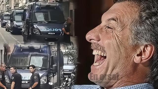 Macri militariza las puertas de la AFSCA