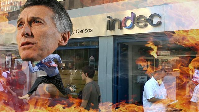 Papelón: el Indec de Macri no informará sobre inflación en los próximos 8 meses