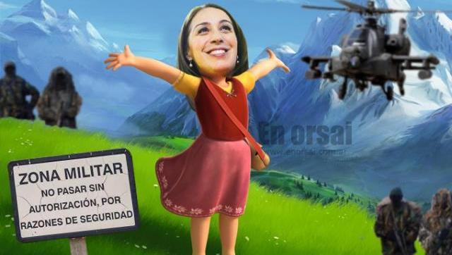 Por su seguridad Vidal y su marido intendente vivirán en una base militar