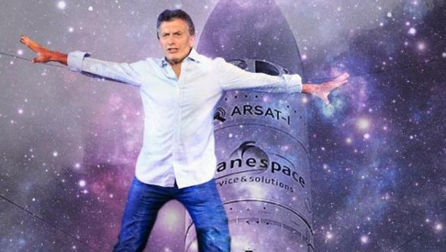 Macri ordenó frenar la construcción de un nuevo satélite Arsat