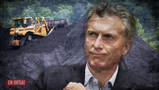 Otro 'bisnes': para Macri, el carbón de Río Turbio