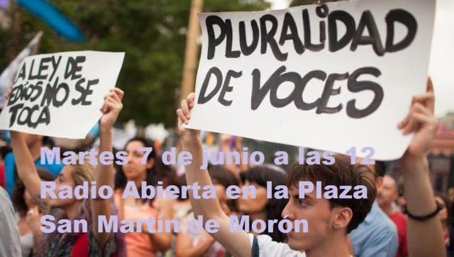 Medios de Morón denuncian a Tagliaferro por discriminación