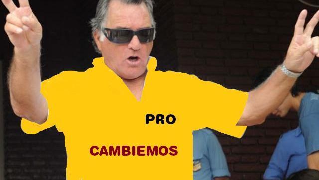 Barrionuevo, defendió a Macri en un congreso y casi lo linchan