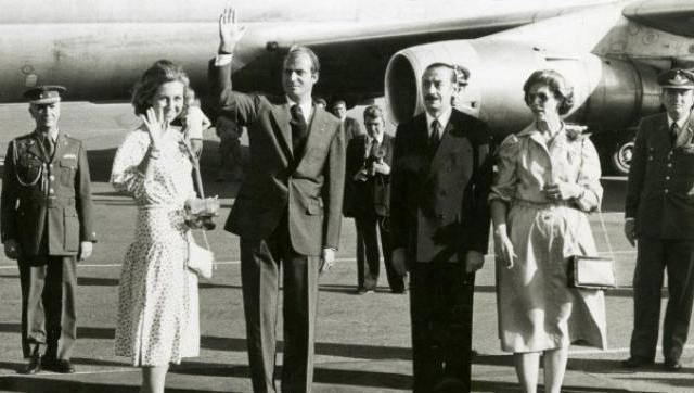 """El rey Juan Carlos sentía """"emoción"""" por la dictadura argentina"""