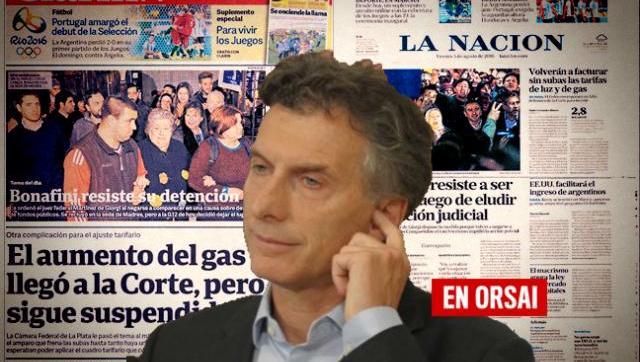 En La Nación y Clarín no se enteraron del masivo ruidazo contra del tarifazo macrista