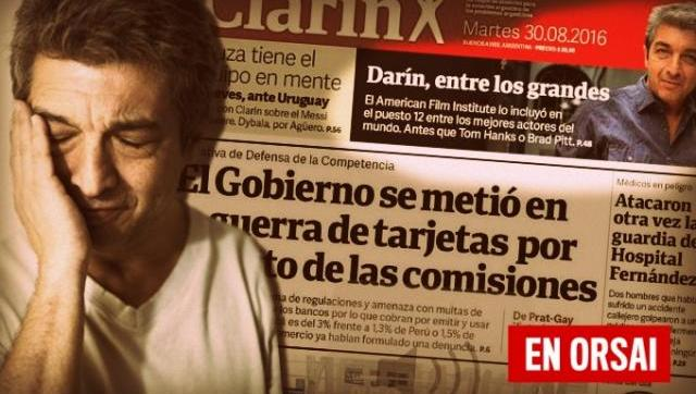 La falsa noticia de Clarín sobre una encuesta de actores