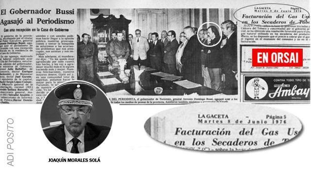 Los oscuros vínculos de Joaquín Morales Solá con la dictadura cívico-militar