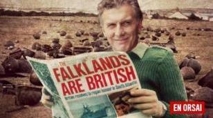 Malvinas: desmienten a Macri hasta en el Reino Unido