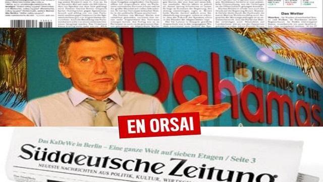 Feroz Crítica A Macri En El Diario Alemán Que Hizo Público El Panamá