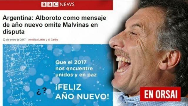 Los ingleses se ríen de nosotros gracias a Macri y su