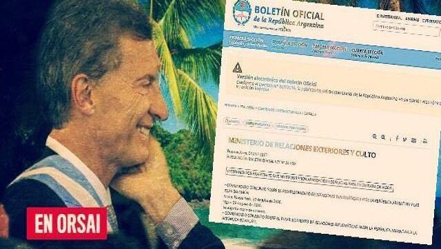 El increíble acuerdo de Macri con dos