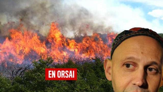 Ahora Bergman culpó por los incendio a la provincia de La Pampa