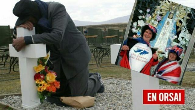 Otra vez: ingleses atacaron el cementerio de los soldados Argentinos caídos en las Islas Malvinas