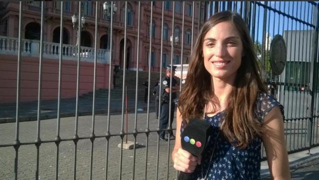 Una periodista de Telefe que investiga al jefe de inteligencia de Macri, amenazada