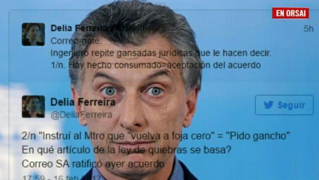 CorreoGate: Macri ordenó volver a