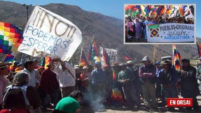 Comunidades originarias realizarán una marcha desde La Quiaca hasta San Salvador de Jujuy