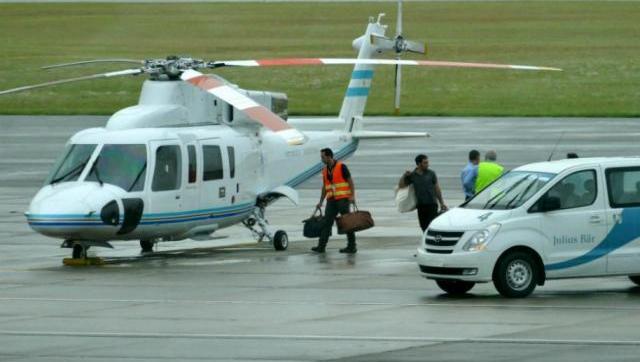 Hoy Macri probará helicopteros en Saladillo