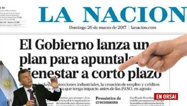 """Será """"obligatorio"""" el canal del diario """"La Nación"""" en todo el País"""