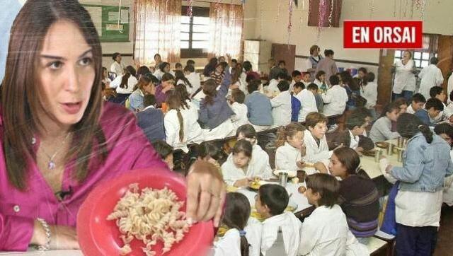 Vidal 24 fideos tirabuzones por chico en los comedores for Comedores escolares caba