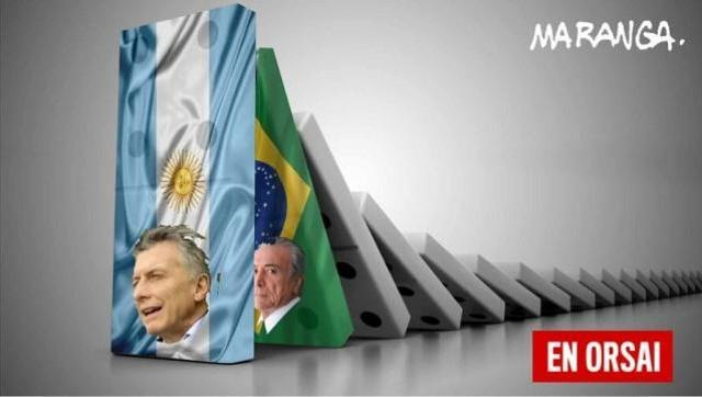 La crisis política en Brasil va a impactar en la economía argentina