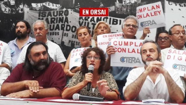 Mañana paro de los docentes bonaerenses que rechazaron la ridícula oferta de Vidal