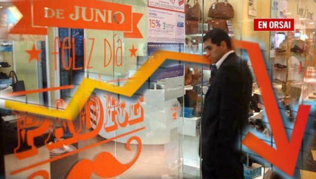 En picada: las ventas por el Día del Padre cayeron un 3,4 por ciento