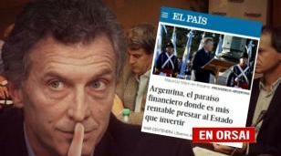 El País de España advierte que Argentina se convirtió en la capital de la timba financiera