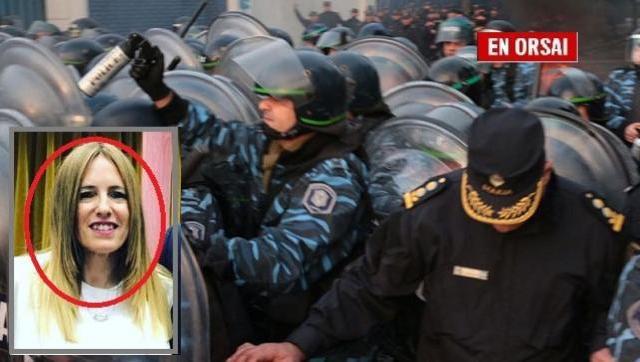 La jueza que ordenó la represión era esposa de un diputado Macrista