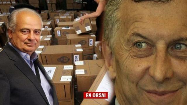 La empresa que hará recuento de votos es dirigida por un ex empleado de Macri