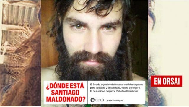 """Organismos afirmaron que la desaparición de Maldonado """"no es casual"""""""