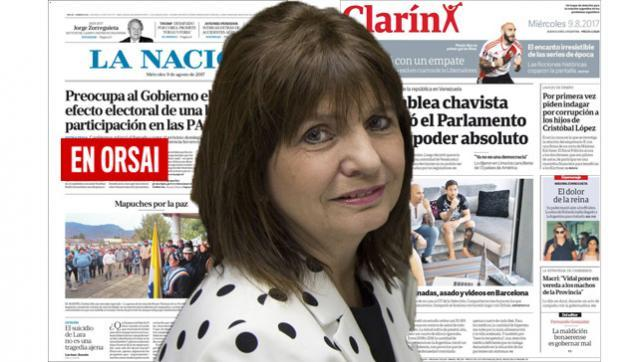Los medios oficialistas juegan su rol en la desaparición de Santiago Maldonado