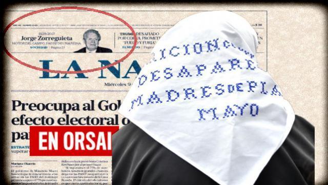 La Nación y su homenaje en tapa a un funcionario de la dictadura