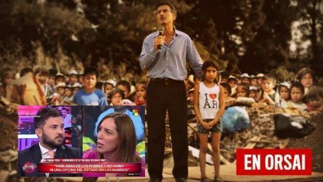 Datos completos sobre pobreza, Duhalde - Kirchner - Macri